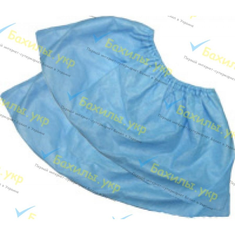 Shoe covers, nonwoven, low